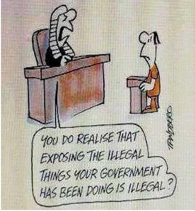 Exposing Government Cartoon Photo