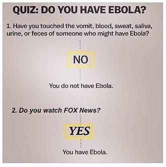 Fox News Ebola Test Funny Photo