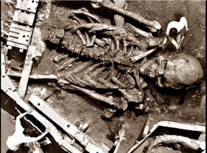 Giant excavated