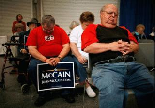 McCain Speech Audience photo