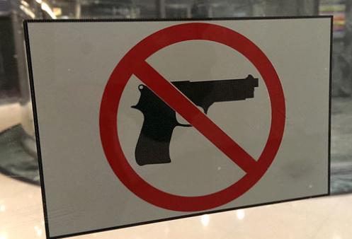 No guns symbol photo