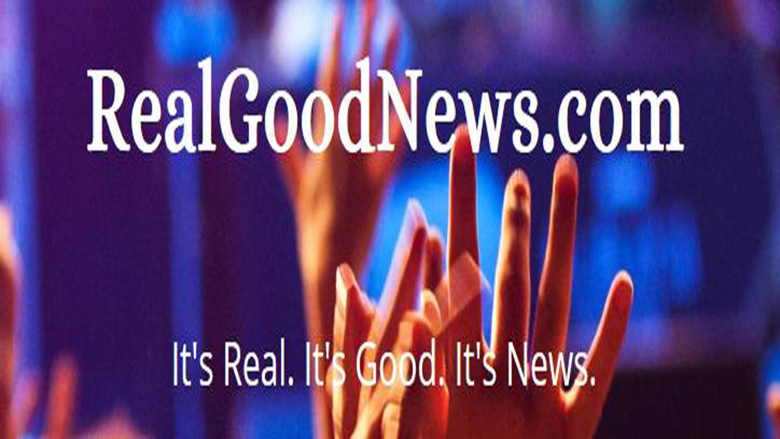 RealGoodNews with dotcom banner photo