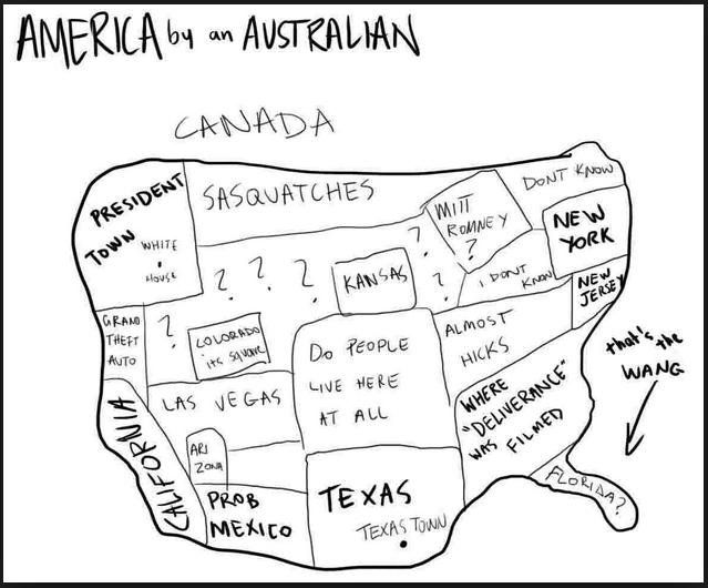 american map by australian funny phot