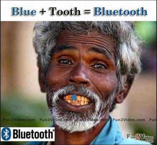 bluetooth funny photo