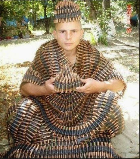 bullet robe weird photo