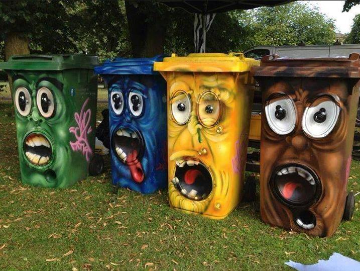 Who says garbage can't be fun?