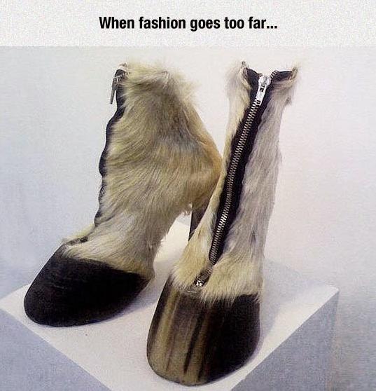 Fashion gone horribly wrong....