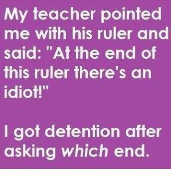i got detention funny photo