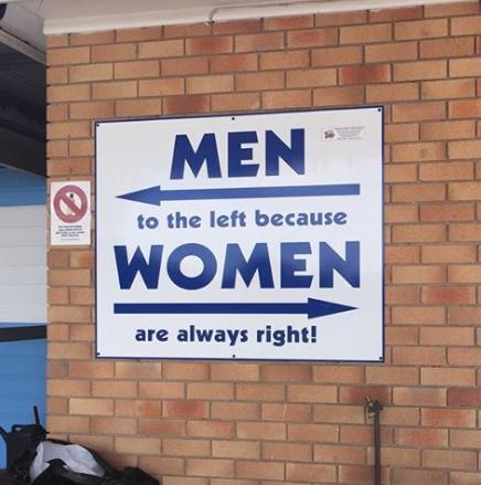 men to the left funny photo