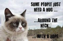 need a hug with a rope funny photo
