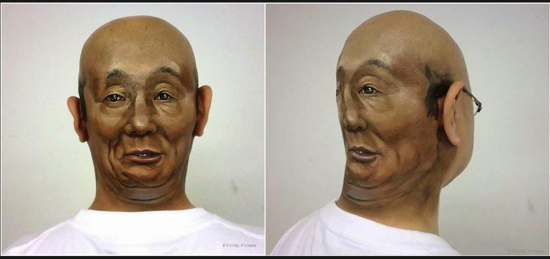 Talk about two-faced...!