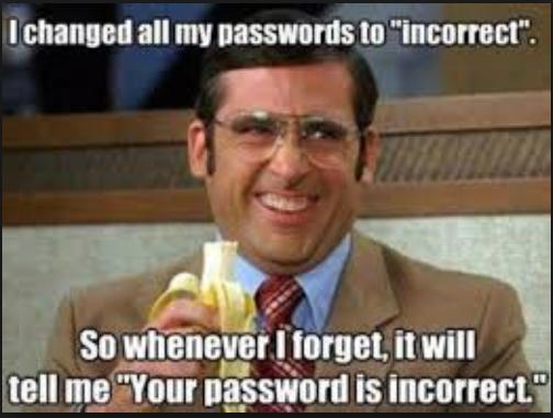 password incorrect funny photo