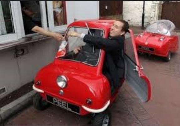 I love this weird little car!