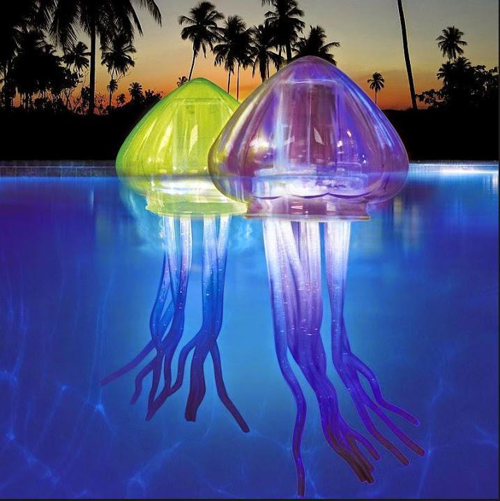 Weird pool lights