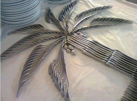 silverware palmtree cool or weird photo
