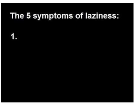 symptoms of laziness funny photo