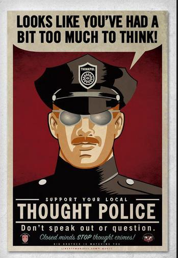 thought police photo