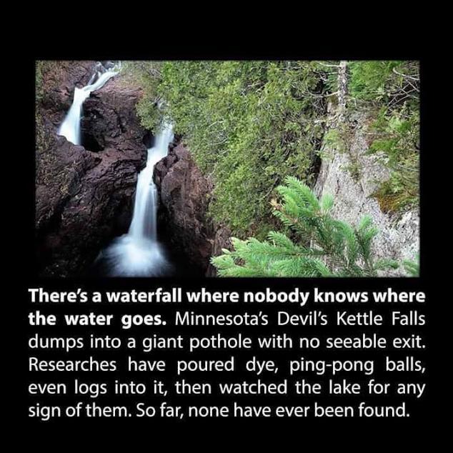 weird waterfall weird photo