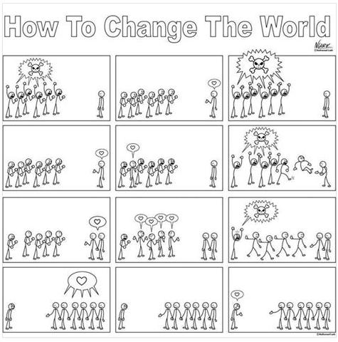 How to change the world cool or truth photo
