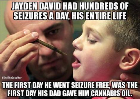 Jayden David seizures cannabis oil truth or cool photo