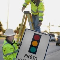Red Light Cameras coming down photo
