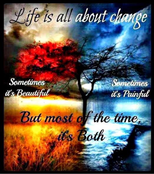 life is all about change cool photo