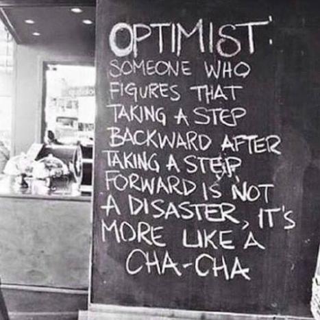 optimist more like a chacha cool or truth photo