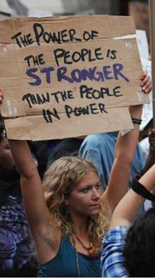 power of the people stronger than people in power cool or truth photo