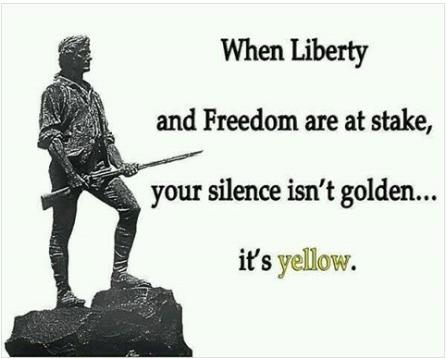 silence is yellow cool photo