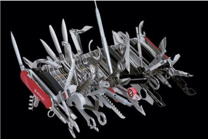 Worlds largest Swiss Army Knife - The Wenger 16999, only $2200.00!