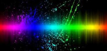 color spectrum photo