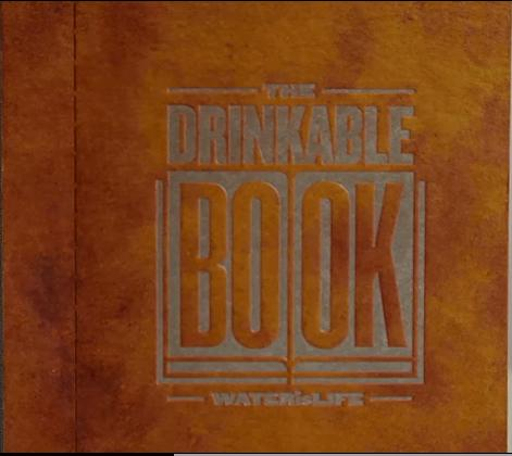 The Drinkable Book photo
