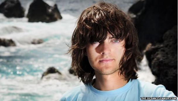 Boyan Slat the OceanCleanUp photo