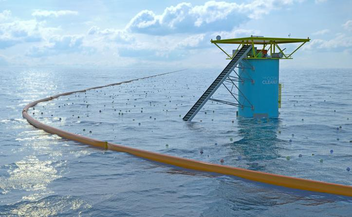 Ocean CleanUp Array photo
