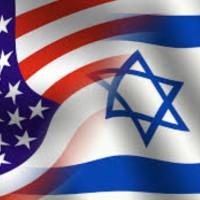 israeli american flag photo