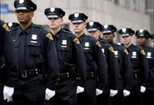 marching cops good cops story