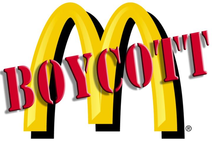 boycott McDonalds photo