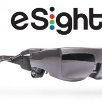 eSight glasses logo pic Lynda Brasier