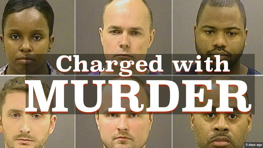 six cops charged with murder truth photo