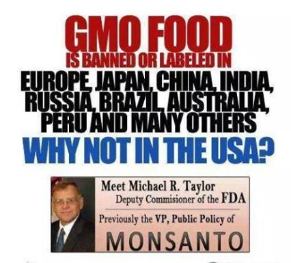 GMO banned wy not america truth photo