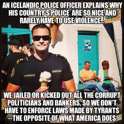 Icelandic police truth photo