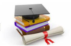 books and diploma photo