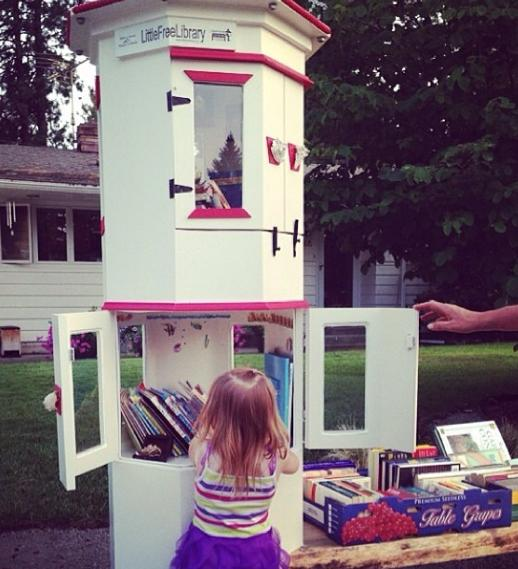 little free library 5 photo