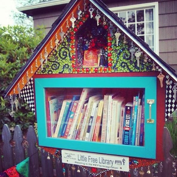 little free library 6 photo